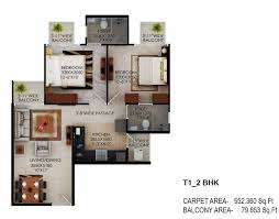 Flooring Plan by Signature Global The Millennia Affordable Project In Sector 37d