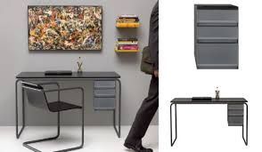 Steel Pipe Desk by Muji Steel Pipe Desk U2014 Desk Work Better Living Through Design
