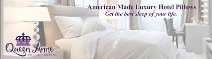 The Duvet And Pillow Company Amazon Com Queen Anne Heavenly Down Hypoallergenic Luxury Pillow