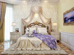 bedroom luxurious interior lighting combined with prestigious