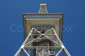 radio tower the old berlin radio tower stock photo colourbox