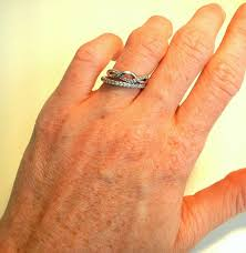 how to wear wedding ring set unsolder my 3 rings opinions weddingbee