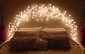 headboard lighting ideas beautiful fairy lights for bedroom headboard comqt