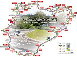 Circuit Of The Americas Track Map by Nordschleife Map With Corner Names And Racing Line Look For The