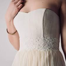 wedding sash lace and silk bridal sash