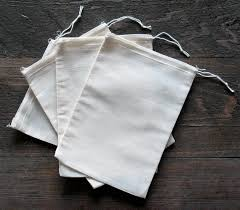 muslin favor bags cotton muslin bags 5x7 inches 25 count pack health
