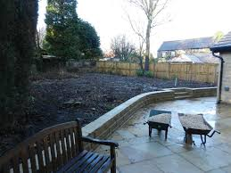 patio drainage problem raised rear garden with drainage problem olive garden design and