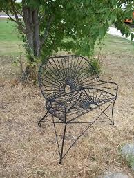 Metal Patio Furniture - wrought iron style settee metal patio furniture