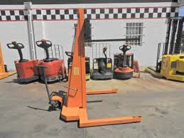 d20542 nice presto manual electric walkie stacker