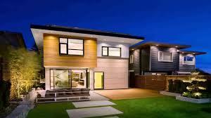 modern home design plans canada youtube