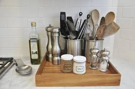 kitchen counter organizer ideas kitchen small kitchen countertops organization hacks 20