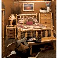 rustic log bedroom sets and packages