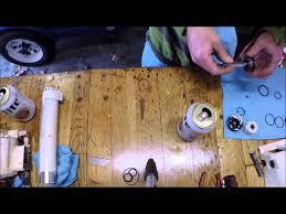 1987 johnson tilt cylinder rebuild youtube