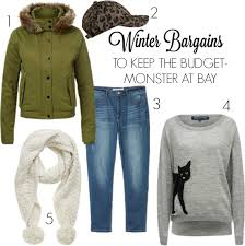 winter bargains to keep the budget monster at bay escape with kids