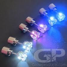 led earrings light up led glow earrings glowproducts