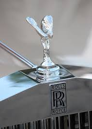rolls royce ornament photograph by rosanne