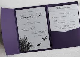 sts for wedding invitations ducks pocketfold wedding invitation themed weddings
