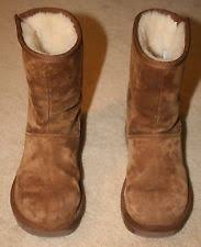 s ugg australia aubrie boots womens ugg aubrie boots size 12 chestnut style 1003589 ebay