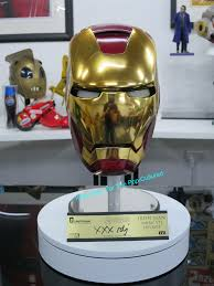 iron man s house efx signature edition iron man helmet replica autographed by