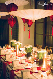 chinese new year party idea asian party decorations table
