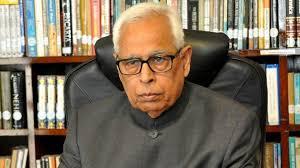j k governor nn vohra is new iic president soli sorabjee steps