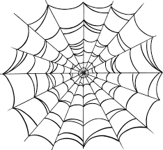 drawing a spider web free printable spider web coloring pages for