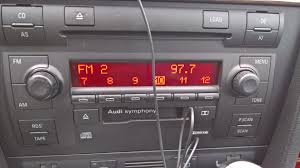 broke down and replaced radio on 02 u0027 s6 avant audiworld forums