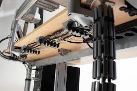 Computer Desk Cord Management Desk Cable Management Desk Cable Trunking 3 Access Ways
