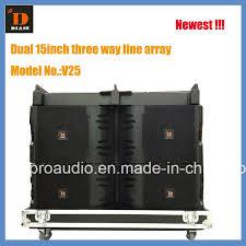 newest model china diase newest model jblvtx series v25 15inch big line array
