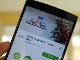 classic rpg final fantasy tactics is now available for android