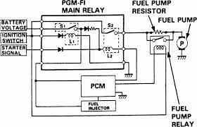 similiar honda civic fuel relay diagram keywords intended for 1993