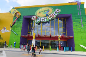The Florida Mall Map by We Get Creative At Crayola Experience Orlando Fl Youtube