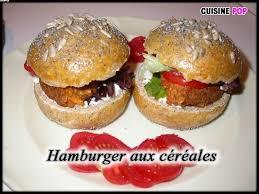 cuisiner un hamburger hamburger aux céréales hamburgers