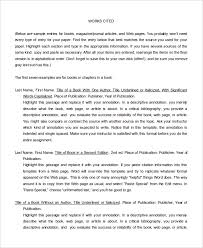 10 annotated bibliography free sample example format free