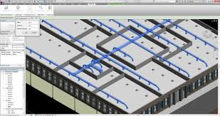bim me automatically distributes supports elements for networks