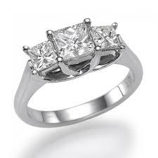 princess cut 3 engagement rings marvelous princess cut 3 engagement rings 37 about remodel