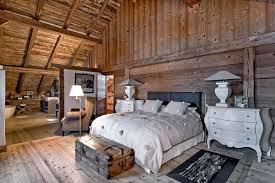 chambre chalet ambiance chalet les meilleures idées deco style montagne maison