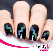zig zag tape for nail art