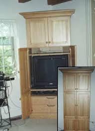 cherry wood corner cabinet after harvest