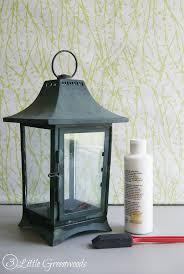lantern centerpiece white lantern centerpiece from a thrift store find 3