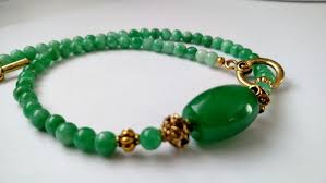 beaded jade necklace images Avanturine jade necklace 0018 maryska collection jpg