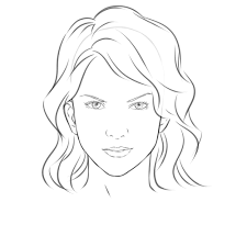 drawing simple faces how to draw eyes face drawing template