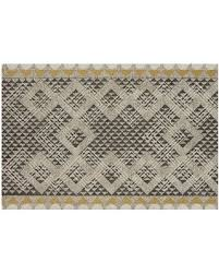 wool rug get the deal 10 off crate barrel thea hand hooked wool rug 6 x9
