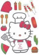 hello fait la cuisine stickers hello faisant la cuisine cela réchauffent les murs