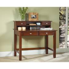 Computer Secretary Desk With Hutch by Hanover Cherry Student Desk And Hutch Walmart Com
