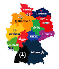Stuttgart Germany Map by