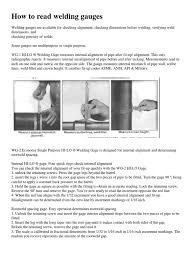 how to read welding gauges pdf welding pipe fluid conveyance