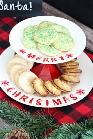 diy tiered christmas cookie stand lydi out loud