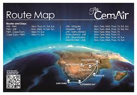 Cape Air Route Map by Flycemair Flight Bookings