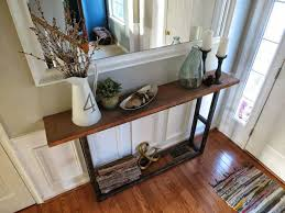 Diy Console Table Best 25 Narrow Console Table Ideas On Pinterest Narrow Entryway